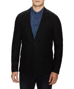 Blk Dnm | Tweed Blazer