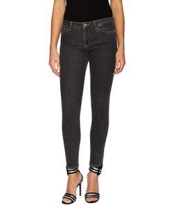 Love Moschino   Embroide Skinny Jean