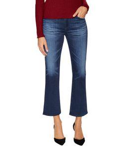 AG Adriano Goldschmied   Jodi Flare Cuff Crop Jeans