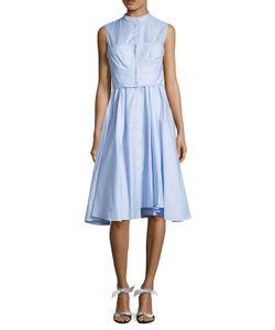 Jason Wu | Cotton Twill Fit And Flare Dress