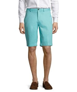 Brooks Brothers | Solid Stretch Cotton Bermuda Shorts