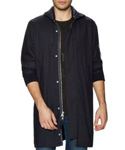 Blk Dnm | Solid Hooded Parka