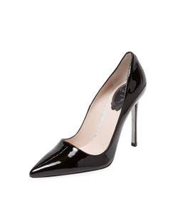 Rene Caovilla | Patent Leather Pointed-Toe Pump