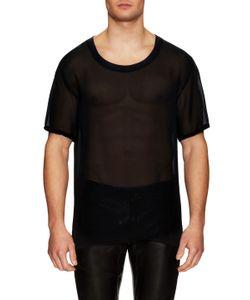Blk Dnm | Silk Mesh T-Shirt