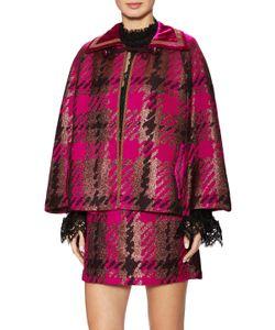 Anna Sui | Jacquard Raglan Wrap Coat