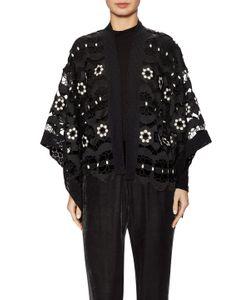 Anna Sui | Lace Scalloped Hem Kimono