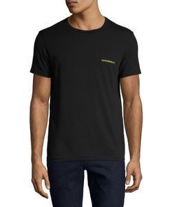 Emporio Armani Underwear | Pop Color Stretch Cotton Crewneck T-Shirt