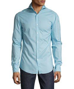 Michael Bastian | Cotton Spread Collar Sportshirt