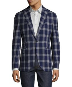 Michael Bastian | Wool Plaid Blazer