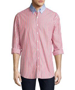 Michael Bastian | Cotton Striped Sportshirt