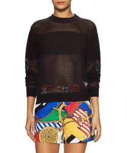 Love Moschino   Mesh Paneled Sweater