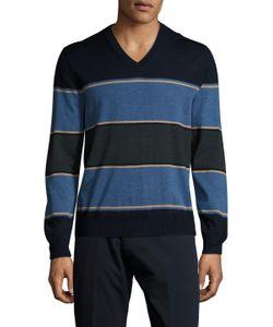 Brooks Brothers | Merino Boldst V-Neck Sweater