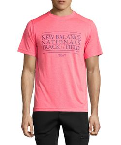 New Balance | Heather Graphic Short Sleeve Tee