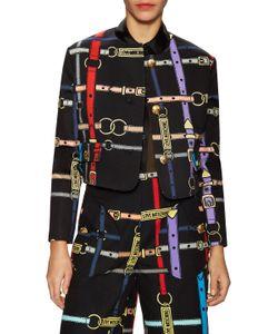 Love Moschino   Belt Printed Jacket
