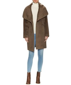 Derek Lam 10 Crosby | Oversized Alpaca Hooded Coat