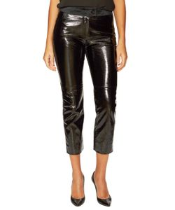 Chanel | Vintage Leather Suede Pant