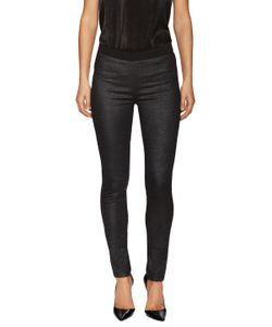 Zadig & Voltaire   Pharly Shiny Cotton Skinny Pant
