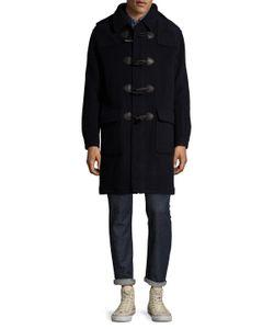 Brooks Brothers | Wool Hooded Toggle Coat