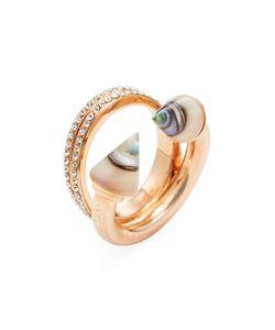 Vita Fede   Titan Stone Double Crystal Ring