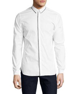 The Kooples | Cotton Grosgrain Sportshirt