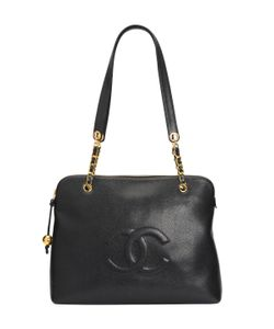 Chanel | Vintage Caviar Weekend Travel Tote Large