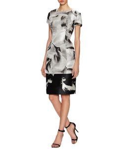Carolina Herrera   Printed Sheath Dress