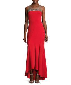 Marchesa Notte | Gathe High Low Gown