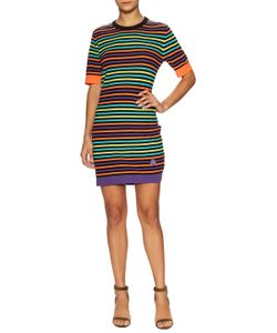 Love Moschino   Striped Sheath Dress