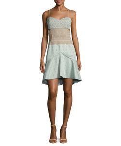 Jonathan Simkhai | Bonded Lace Bustier Fla Dress