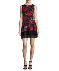 Anna Sui | Wild Rose Print Silk Dress
