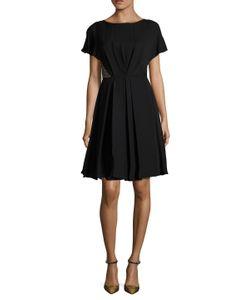 Jason Wu | Silk Georgette Pleated A-Line Dress