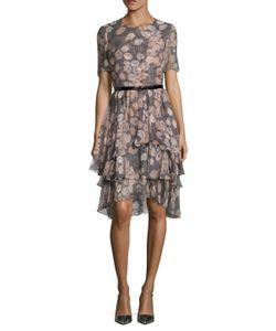 Jason Wu | Prince Of Wales Silk Chiffon Dress