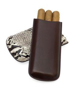 Tampa Fuego   Half Leather Cigar Case