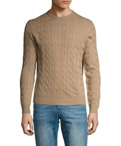 Brooks Brothers | Merino Cableknit Crewneck Sweater
