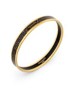 Hermès | Vintage Horsebit Narrow Bangle Bracelet