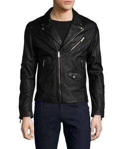 The Kooples | Leather Zip Jacket