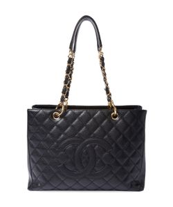 Chanel | Vintage Quilted Caviar Grand Shopper Gst