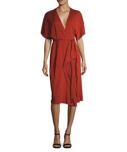 Narciso Rodriguez | Kimono Sleeve Jersey Wrap Dress