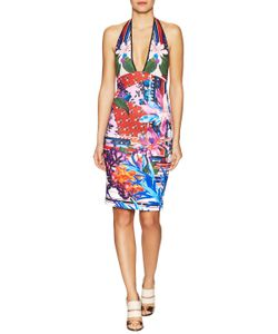 Clover Canyon | Botanical Scarf Halter Dress