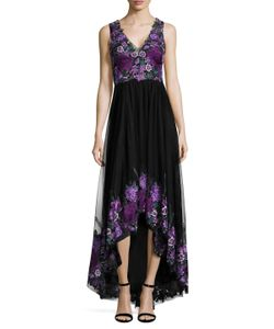 Marchesa Notte | Embroide Gown