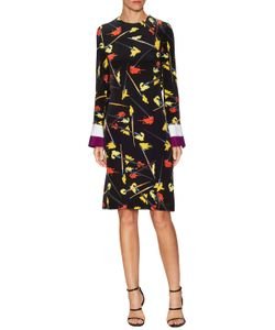 Emilio Pucci | Silk Cut Out Knee Length Dress