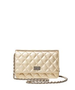 Chanel | Vintage Quilted Lambskin Reissue Wallet On A Chain Woc