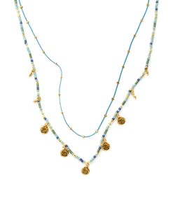 Chanluu | Chinese Cord Coin Layer Necklace