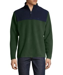 Brooks Brothers | Polar Stand Collar Zip Sweater