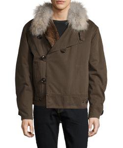Yves Salomon | Veste 65cm Jacket