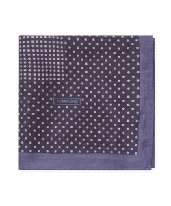 Tom Ford | Polka Dot Silk Large Pocket Square 23 X 23