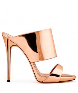 Giuseppe Zanotti Design   Giuseppe Zanotti Rose Leather Mule Andrea