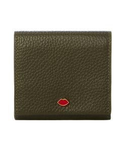 Lulu Guinness | Grn Sml Grainy Leather Hettie Cardholder