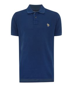 Paul Smith Jeans | Mens Regular Fit Zebra Logo Polo Shirt