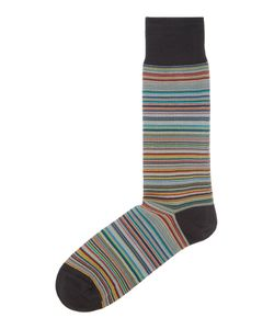 Paul Smith London | Mens Striped Ankle Sock